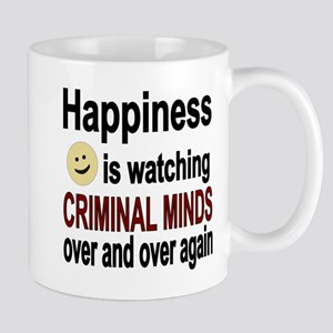 Happiness is watching CRIMINAL MINDS ov Mug