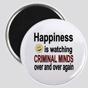 Happiness is watching CRIMINAL MINDS over a Magnet