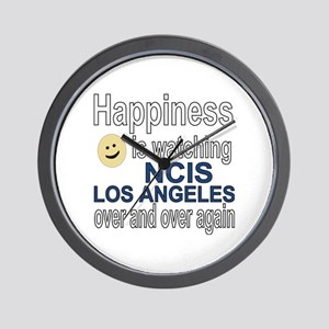 Happiness is watching NCIS Los Angeles  Wall Clock