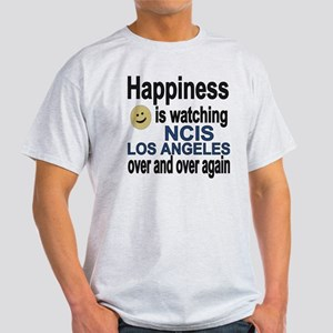 Happiness is watching NCIS Los Angel Light T-Shirt