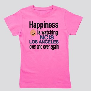 Happiness is watching NCIS Los Angeles  Girl's Tee