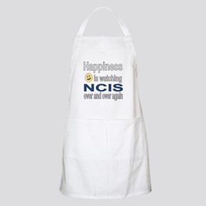 Happiness is Watching NCIS Apron