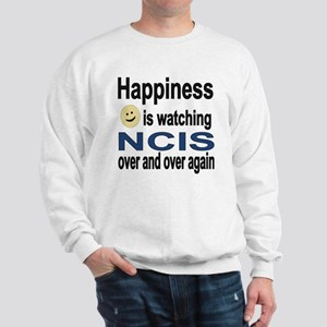 Happiness is Watching NCIS Sweatshirt
