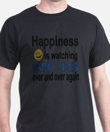 Happiness is Watching NCIS T-Shirt
