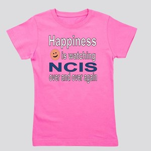 Happiness is Watching NCIS Girl's Tee