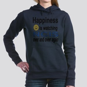Happiness is Watching NC Women's Hooded Sweatshirt