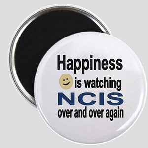 Happiness is Watching NCIS Magnet