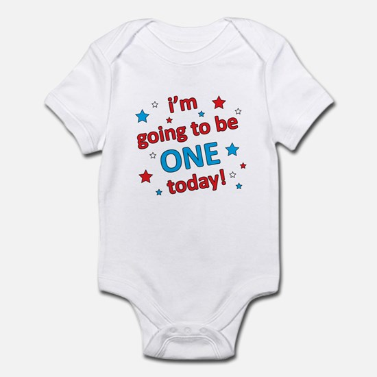 Patriotic 1st Birthday Infant Bodysuit