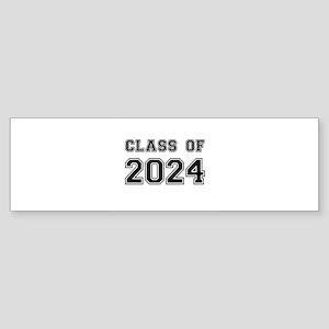 Class of 2024 Bumper Sticker