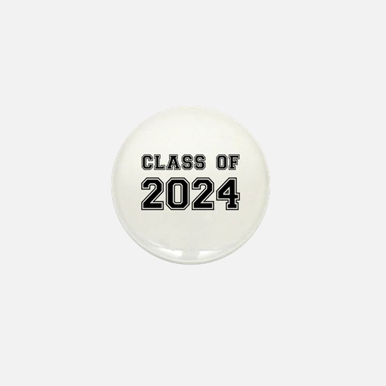 Class of 2024 Mini Button