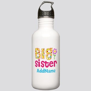 Big Sister Pink Teal F Stainless Water Bottle 1.0L