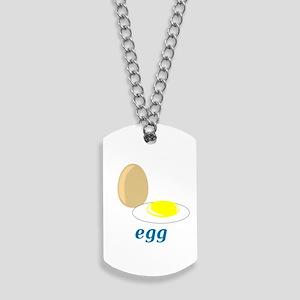 Egg Dog Tags
