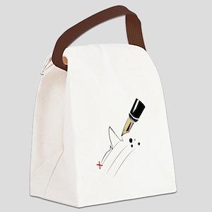 Signature Canvas Lunch Bag