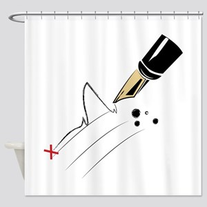 Signature Shower Curtain