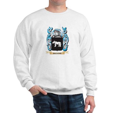 Bignami Coat of Arms - Family Crest Sweatshirt