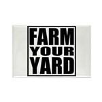 Farm Your Yard Rectangle Magnet (10 pack)