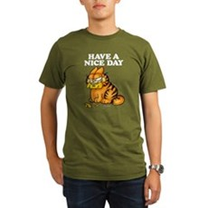 Have a Nice Day Organic Men's T-Shirt (dark)