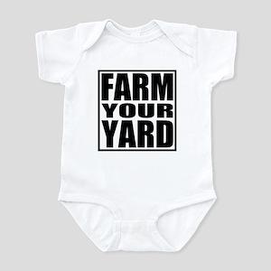 Farm Your Yard Infant Bodysuit