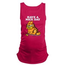 Have a Nice Day Maternity Tank Top