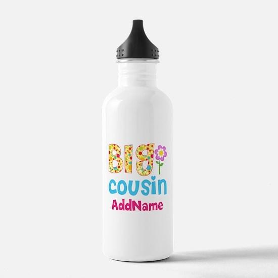 Big Cousin Floral Dots Water Bottle