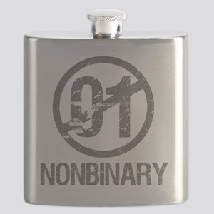 Nonbinary Pride Flask