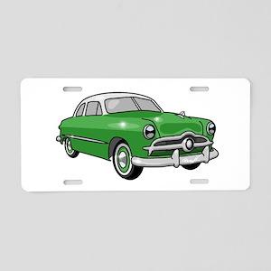 1949 Ford Sedan Aluminum License Plate