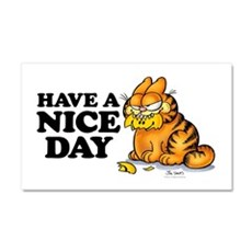 Have a Nice Day Car Magnet 20 x 12