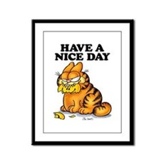 Have a Nice Day Framed Panel Print