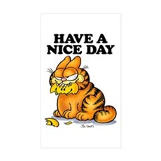 Have a Nice Day Sticker (Rectangle 10 pk)