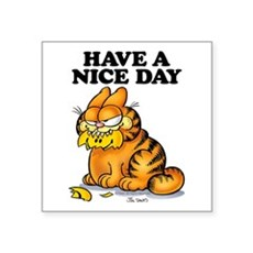 Have a Nice Day Square Sticker 3
