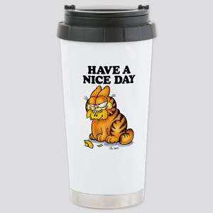Have a Nice Day Stainless Steel Travel Mug