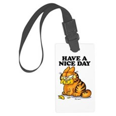 Have a Nice Day Large Luggage Tag