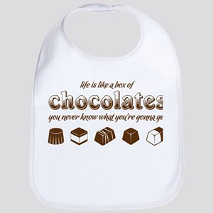 Life is like a box of chocolates Bib
