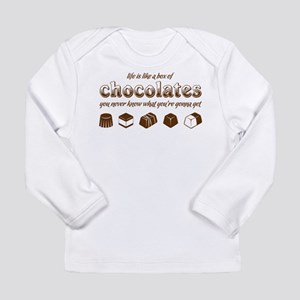 Life is like a box of chocolates Long Sleeve T-Shi