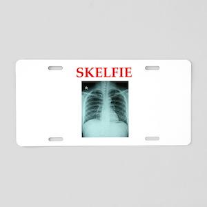 RADIOLOGY JOKE Aluminum License Plate