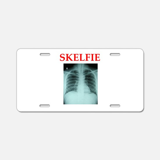 RADIOLOGY JOKE Aluminum License Plate
