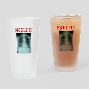 RADIOLOGY JOKE Drinking Glass
