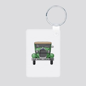 1931 Ford Model A Aluminum Photo Keychain