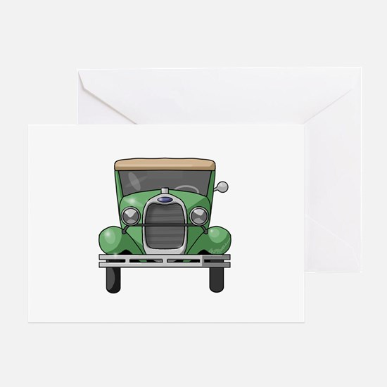 1931 Ford Model A Greeting Card