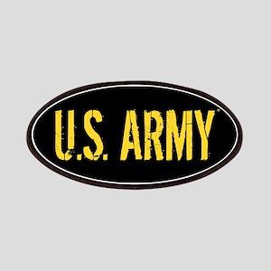 U.S. Army: Black & Gold Patch