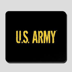 U.S. Army: Black & Gold Mousepad