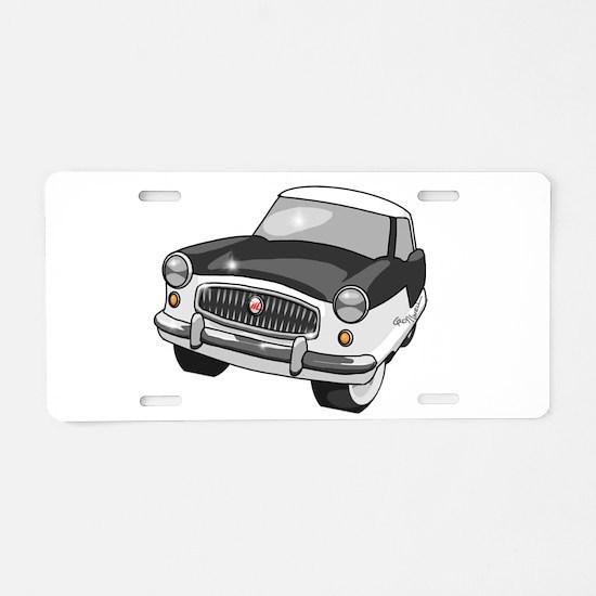1958 Nash Metropolitan Aluminum License Plate