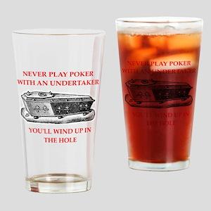 undertaker Drinking Glass