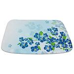 Forget Me Not Flowers Bathmat