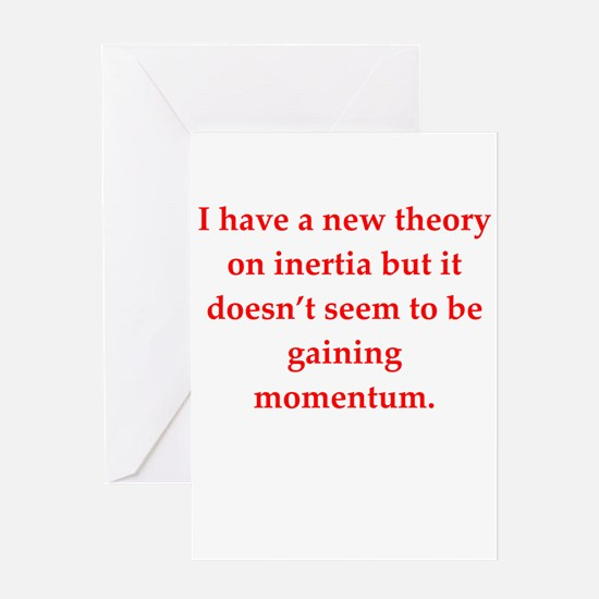theory Greeting Cards
