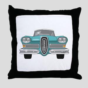 1958 Ford Edsel Throw Pillow