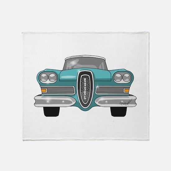 1958 Ford Edsel Throw Blanket