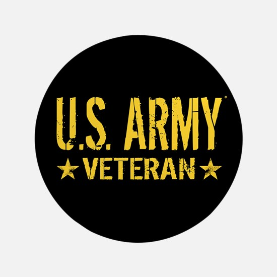 U.S. Army: Veteran (Gold Stars) Button