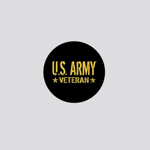 U.S. Army: Veteran (Gold Stars) Mini Button