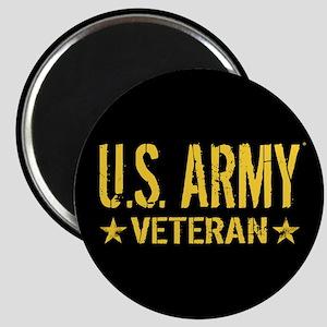 U.S. Army: Veteran (Gold Stars) Magnet